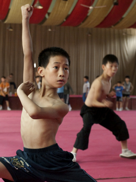 Martial arts dreams: Qiu Bao endures despite tough conditions